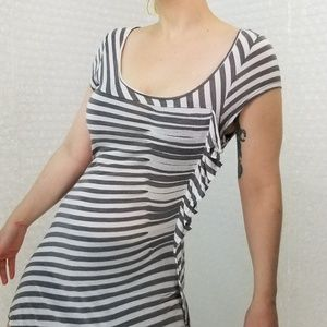 Cartonnier striped tunic top from Anthropologie